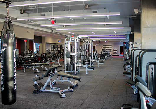 Sport & Health weight room