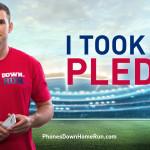 Join Ryan Zimmerman's Phones Down Home Run Pledge