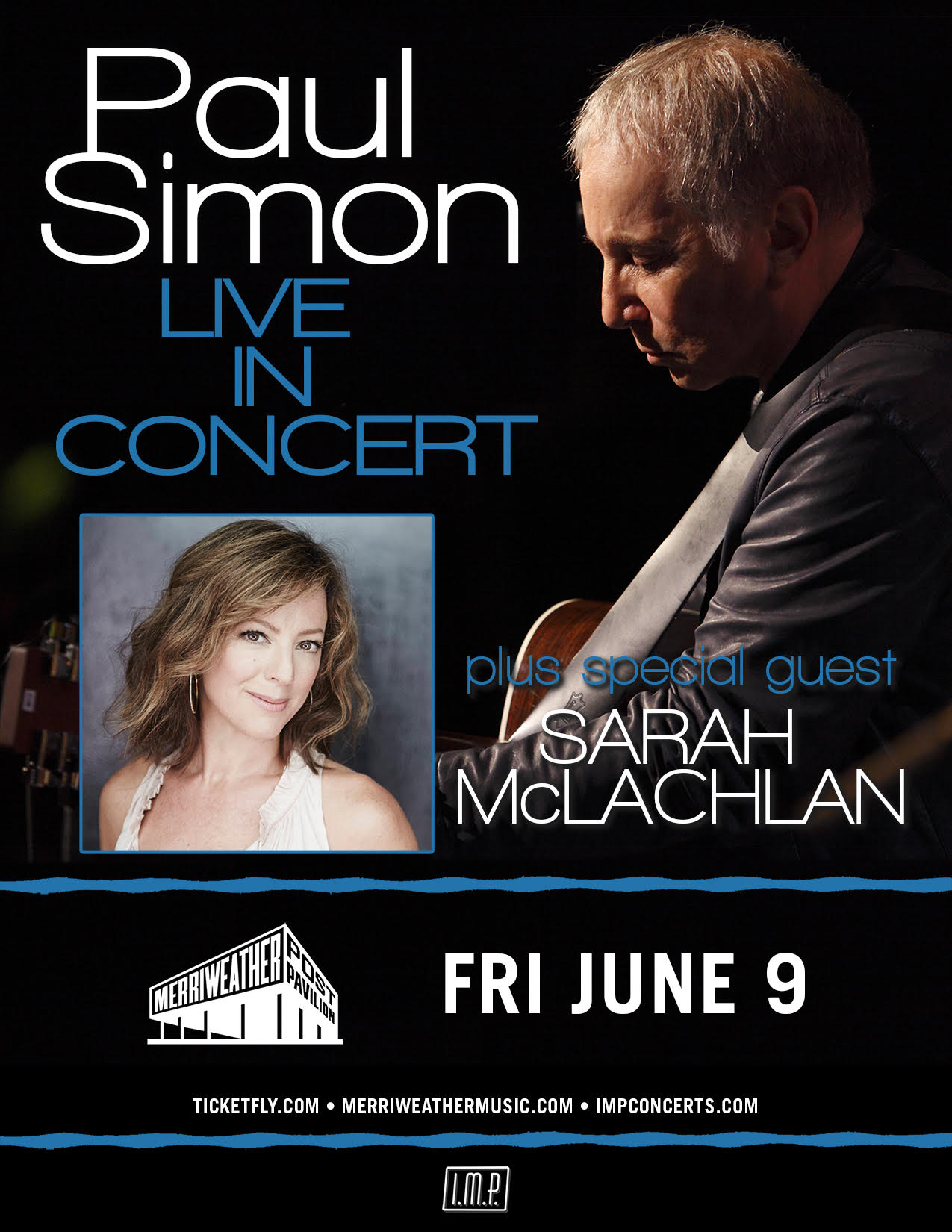 Paul Simon and Sarah McLachlan