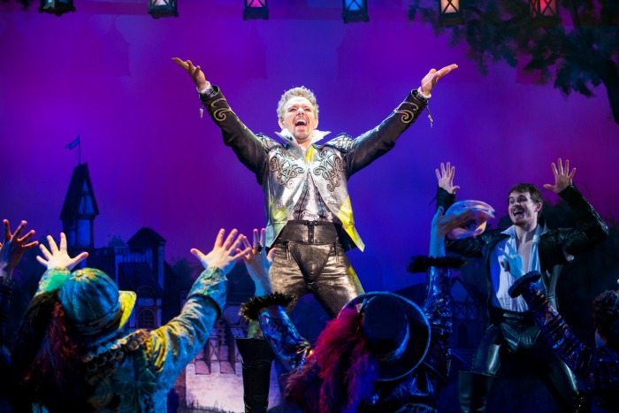 Adam Pascal in Something Rotten