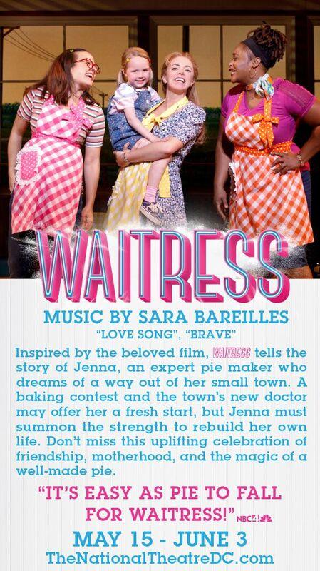 Waitress at National Theatre