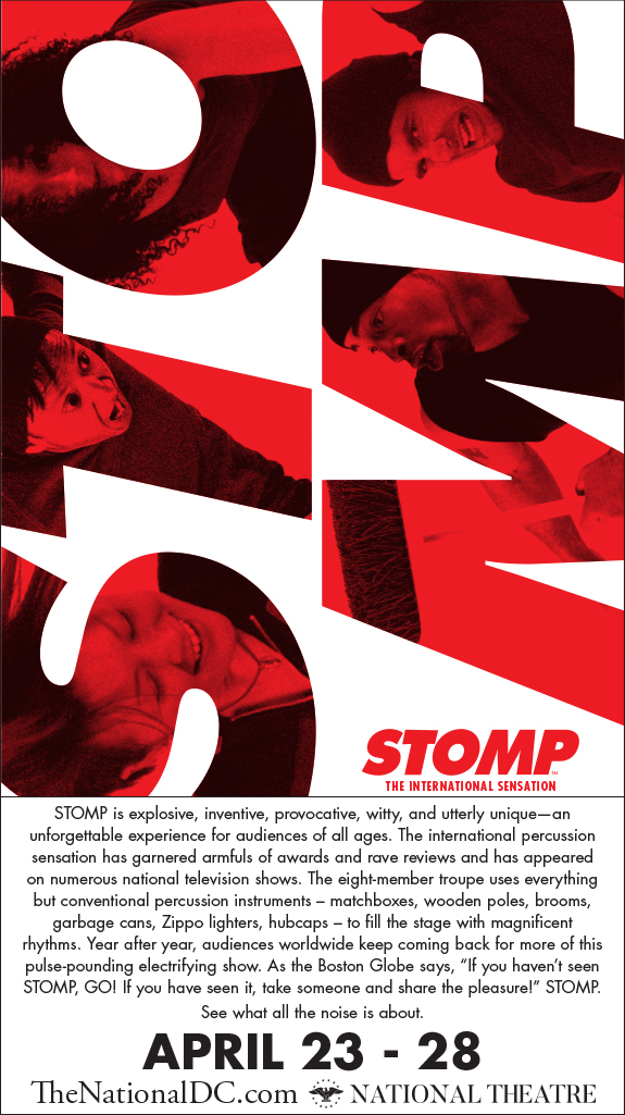 Stomp at National Theatre