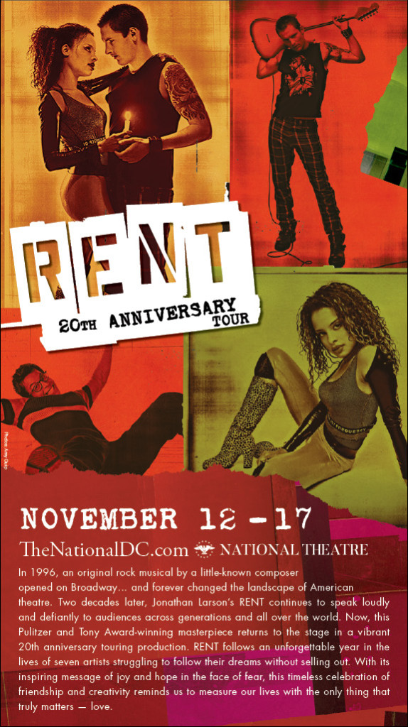 RENT at National Theatre