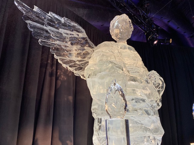 Angel in ICE!