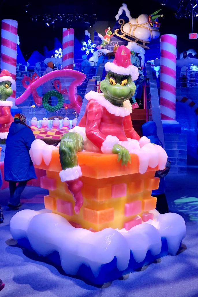 ICE! How the Grinch Stole Christmas