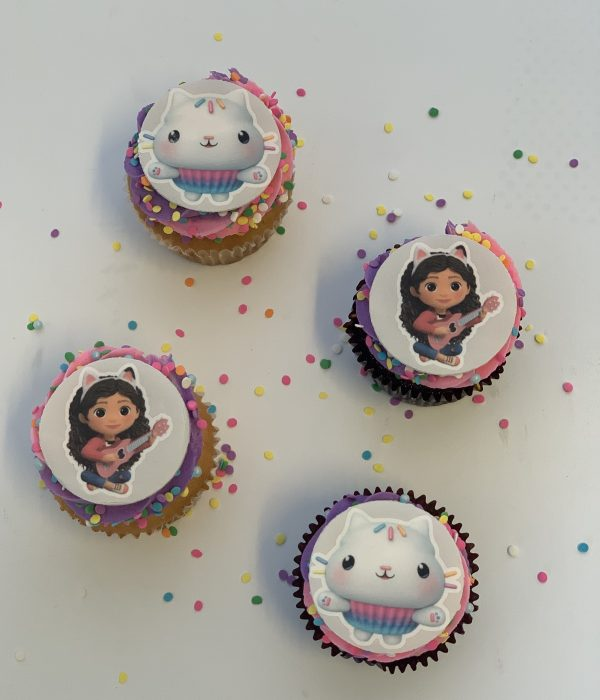 Fluffy thoughts cupcakes